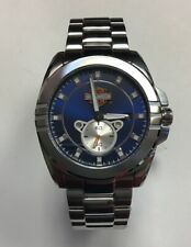 BULOVA Men's Harley-Davidson Stainless Steel Blue Dial WATCH 76B183