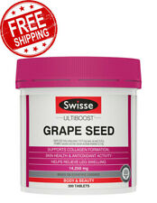 Swisse Ultiboost Grape Seed Body 300 Tablets Vitamins Pack