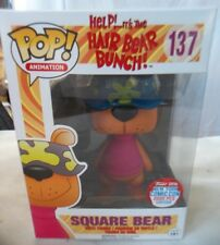 Pop! Animation Square Bear Hair Bear Bunch # 137 Nycc Limited Chase Edition