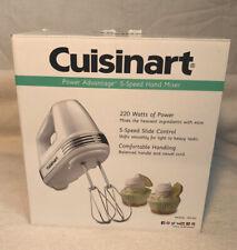 Cuisinart Power Advantage 5 Speed 220W Hand Mixer - White