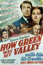 Film How Green Was My Valley 01 A3 Box Canvas Print