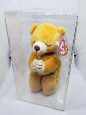 682cab560b4 Ty Beanie Babies Rare Retired HOPE Praying Bear w New Tag Errors 1st EDITION