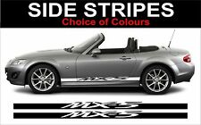 Mazda mx5 side stripe decals mx5 large