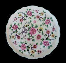 More details for vintage 50's james kent old foley hand painted flowers and birds porcelain plate