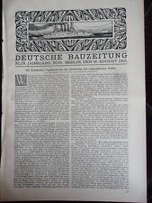 1915 67 Landhaus Diringshofen in Nedlitz bei Potsdam Dresden Lipsius Säule