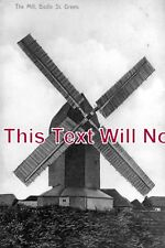 SX 251 - The Mill, Bodle St Green Windmill, Herstmonceux, Sussex c1917 6x4 Photo