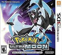 Pokémon Ultra Moon Nintendo 3DS Game