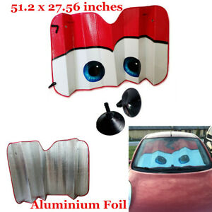 Folding Front Car Window Sun Shade Auto Windshield Visor Block Cover 130 × 70 CM