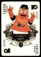 2020-21 UD O-Pee-Chee Playing Cards Aces #Joker Gritty - Philadelphia Flyers
