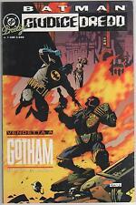 BATMAN GIUDICE DREDD VENDETTA A GOTHAM PLAY PRESS DC PRESTIGE 1 STORIA COMPLETA