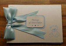Personalised Bear Design Baby Photo Album/ Baby Shower or Memory Book Scrapbook