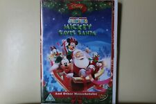 Mickey Mouse Clubhouse Mickey Saves Santa & Other Mouseketales Disney DVD