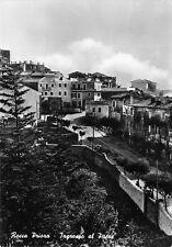 7782) ROCCA PRIORA (ROMA) INGRESSO AL PAESE. VIAGGIATA NEL 1957.