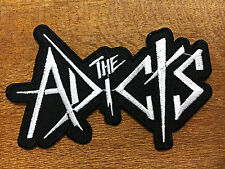 New THE ADICTS EMBROIDERED PATCH IRON ON or SEW. English punk band Punk wave