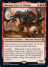 ***4x Moraug, Fury of Akoum*** MTG Zendikar Rising ZNR MINT Kid Icarus