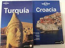 Guia Lonely Planet Croacia edición 2011+ Turquia edición 2005