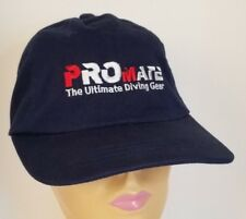 Promate Ultimate Diving Gear Navy Blue Strapback Hat Cap
