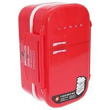Mostaza Nevera Diseño Caja de almuerzo bento Rojo Tamaño Estándar bolsa de alimentos para microondas