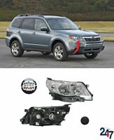 FRONT HEADLIGHT LAMP RIGHT O/S LHD COMPATIBLE WITH SUBARU FORESTER 2008-2013