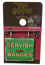 Wizarding World Of Harry Potter Dervish And Banges Sign Trading Pin