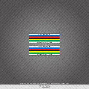 07320 De Rosa Cusano M Tubing Stripes / Bands Bicycle Sticker - Decal - Transfer