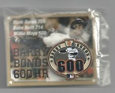 Barry Bonds 600th Home Run Pin SGA San Francisco Giants