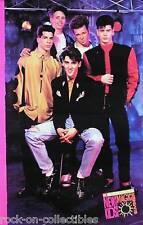 New Kids On The Block 1990 McDonalds Magic Summer Original Promo Poster 1