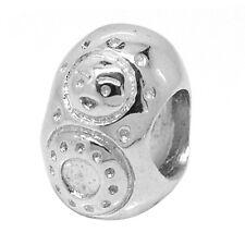 De Buman Sterling Silver Russian Doll Charm Bead