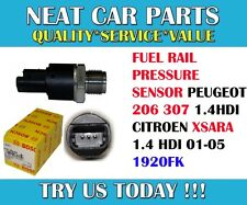 FUEL RAIL PRESSURE SENSOR FOR PEUGEOT 206 307 CITROEN XSARA 1.4 HDI 01-05 1920FK