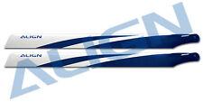 Align HD420G 425 Carbon Fiber Blades- Blue Trex 500E DFC/PRO