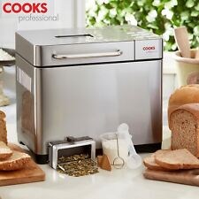 Cooks Professional Digital Bread Maker Machine 19 Modes Seed Dispenser & Timer
