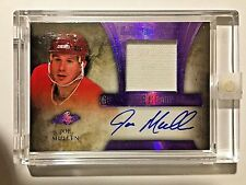 16/17 Leaf Ultimate Purple Spectrum #JM1 Joe Mullen Jersey Patch Autograph #1/5