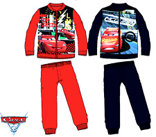 Kids Boys McQUEEN PIXAR CARS Disney Character Tracksuit Outfit & Sets,3 4 6 8YRS