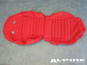 Ferrari 599 Seat Cover Skin - Red