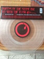 "Queens Of The Stone Age Go With The Flow Ltd Etn Clear 12"" Vinyl"