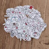 40Pcs Couple Character Phone Car Decor Stationery Sticker Scrapbook Diary TOP