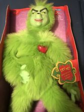 Dr Seuss How The Grinch Stole Christmas Heart Warming Playmates Doll Toy