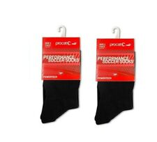 7ff12f079 LOT of 2 NEW Puma ProCat Soccer Knee-high Socks Black Boys Youth Size 2