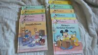 Vintage Mickey's Young Reader Library Volumes 1,3. 4-7, 10, 11.15