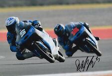 Romano Fenati mano firmato FOTO 12X8 VR46 TEAM KTM MOTO3 2015 1.