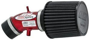 AEM Short Ram Air Intake fits 02-06 Nissan Sentra SE-R Spec V 2.5L L4 Red