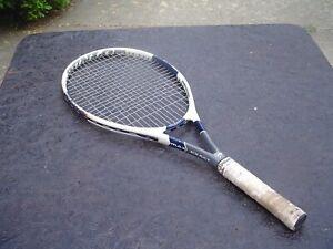Dunlop Max Exact Junior Graphite Tennis Racquet 4.0 Grip w Pro Overwrap