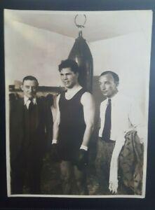 Vintage Original 7 x 9 Boxing Photo. Max Schmeling. Culver Service Photos.