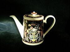 #[[yVILLEROY & BOCH COFFEE POT - INTARSIA PATTERN - MINT