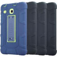 For Samsung Galaxy Tab A 7.0 8.0 9.7 10.1 Shockproof Rugged Hybrid Silicone Case