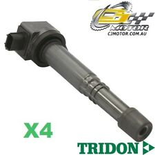 TRIDON IGNITION COIL x4 FOR Honda  Accord CP (50) 02/08-06/10, 4, 2.4L K24Z