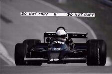 9x6 Photograph Elio de Angelis , F1 Shadow-Cosworth DN9,  ROC Brands Hatch 1979