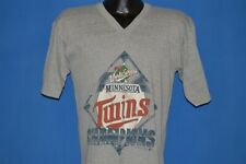 vintage 80s MINNESOTA TWINS 1987 WORLD SERIES CHAMPIONS MLB BASEBALL t-shirt M