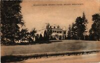 Vintage Postcard - 1943 President's House Wellesley Massachusetts Posted #3110