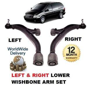 FOR CHRYSLER VOYAGER & GRAND 2000-2008 LEFT RIGHT LOWER SUSPENSION WISHBONE ARM